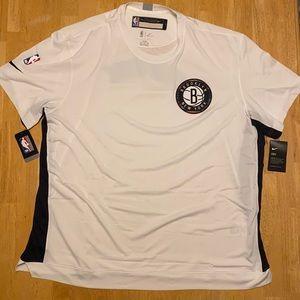 Nike NBA Brooklyn Nets Shooting Shirt Size XXXL